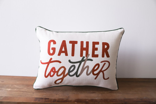 Gather Together Rectangle Pillow