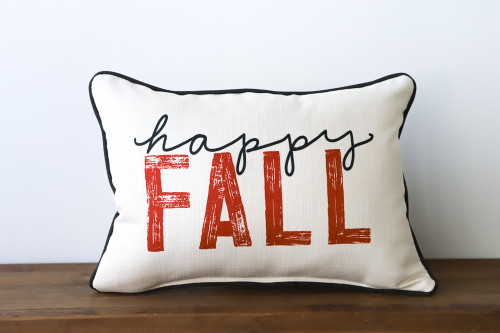 Happy Fall Rectangle Pillow