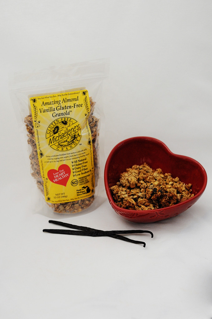 MICHAELENE'S Amazing Almond Vanilla Gluten-Free Granola™ (best selling gluten-free)