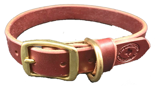 Latigo Leather Dog Collar