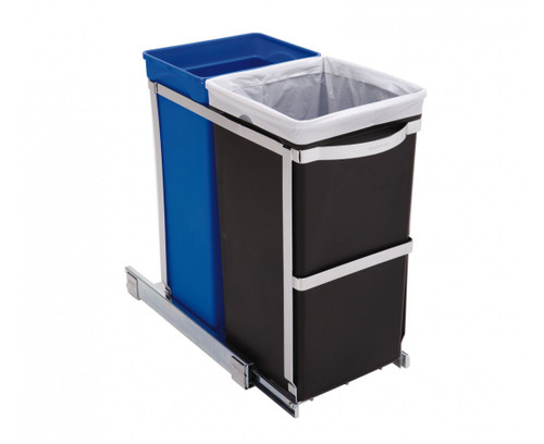 simplehuman 35 Litre (20/15) Under counter pull-out bin fits into 300mm Cabinet