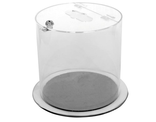 Probbax Battery Recycling Container - 12L - Clear