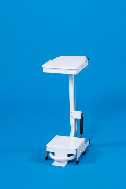 Linton Open Frame Sackholder Standard Lid - Pedal & Hand Operated 20L