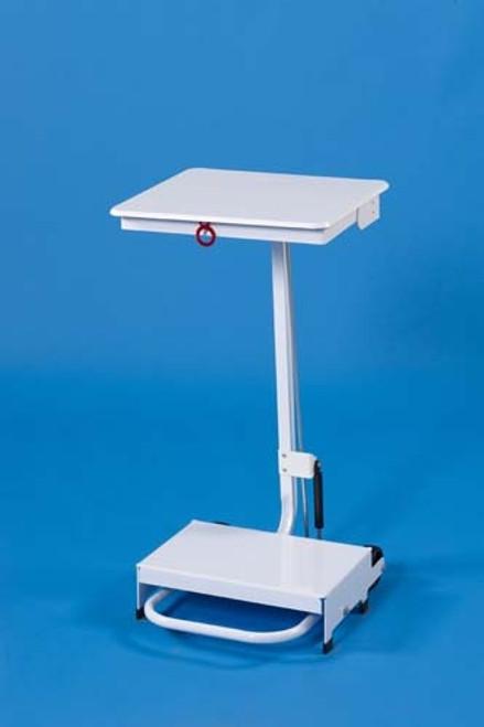 Linton Open Frame Sackholder Standard Lid - Pedal & Hand Operated 50L