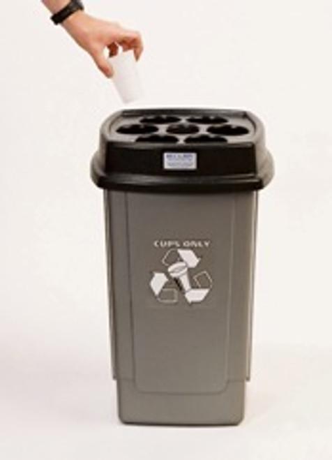 Beca Standard 'Beca-Bin' - Charcoal Base - 500 cups