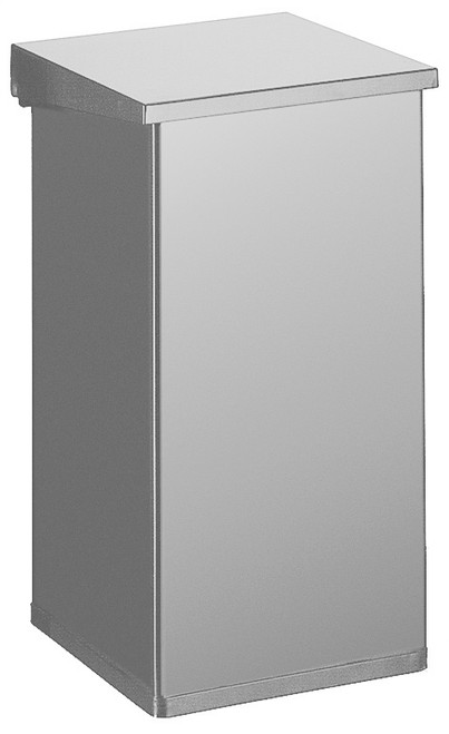 Vepa Carro Lift With Damper 55 Litre - Aluminium Grey