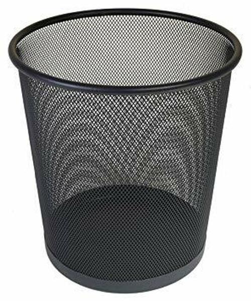 Osco Charcoal Wiremesh - Round Bin 27.5 cm High - 10.9L