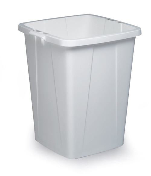 Durable Durabin 90 - White - A robust waste and recycling container that can withstand the rigours of tough environments and is food safe