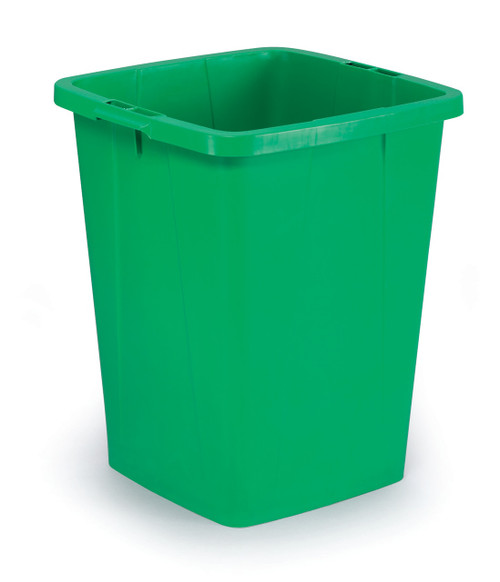Durable Durabin 90 - Green - A robust waste and recycling container that can withstand the rigours of tough environments and is food safe