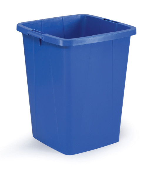 Durable Durabin 90 - Blue - A robust waste and recycling container that can withstand the rigours of tough environments and is food safe