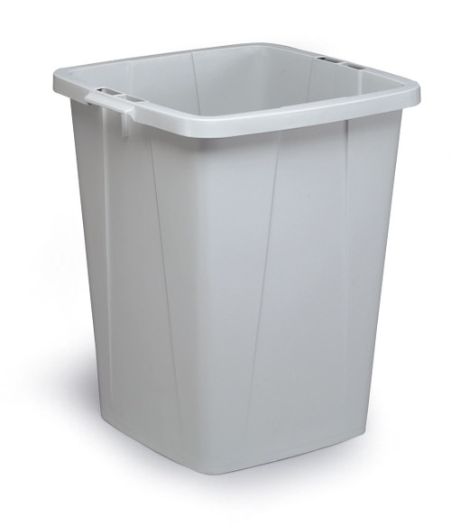 Durable Durabin 90 - Grey - A robust waste and recycling container that can withstand the rigours of tough environments and is food safe