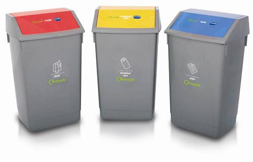 Addis Recycling Hub - 60 Ltr - Metallic