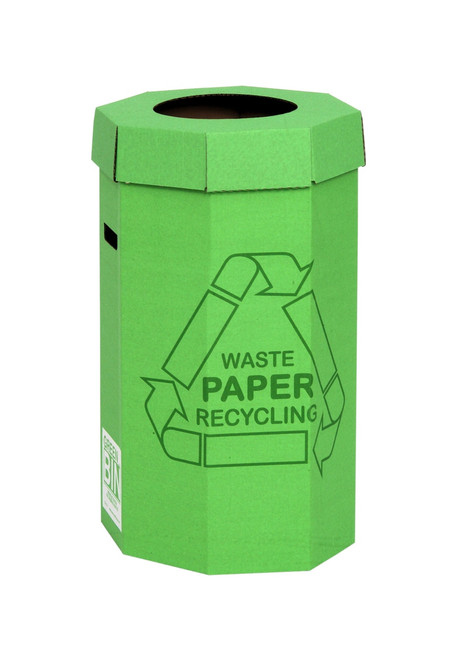 Acorn Green Bin for Recycling Waste - 60 Ltr - Green