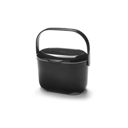 Addis Compost Caddy - 2.5 Ltr - Black/ Grey