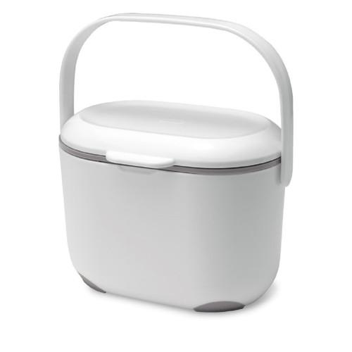 Addis Compost Caddy - 2.5 Ltr - White/ Metallic
