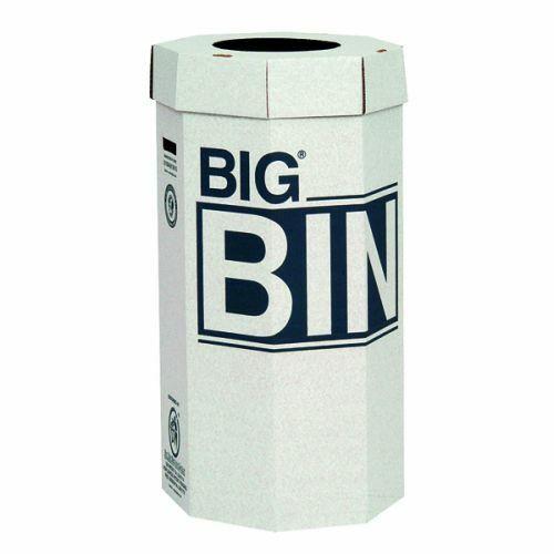Acorn Big Bin Cardboard Recycling Bin - 160 Ltr