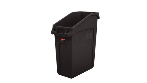 Rubbermaid Slim Jim 49 Litre Under Counter Container Brown