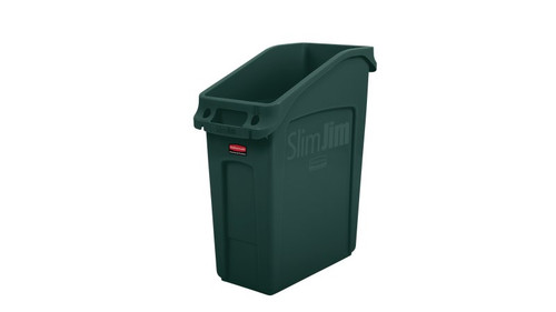 Rubbermaid Slim Jim 49 Litre Under Counter Container Green