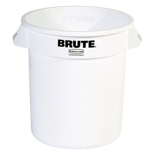 Rubbermaid Brute Container 37.9 L - White