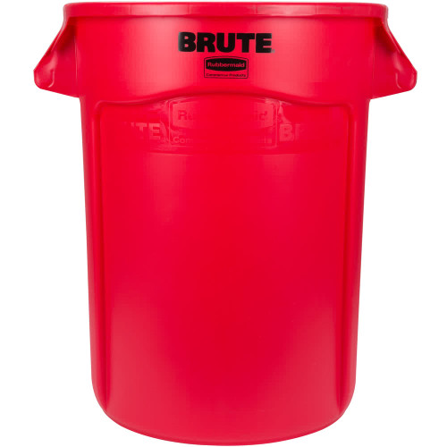 Rubbermaid Brute Container 121.1 L - Red