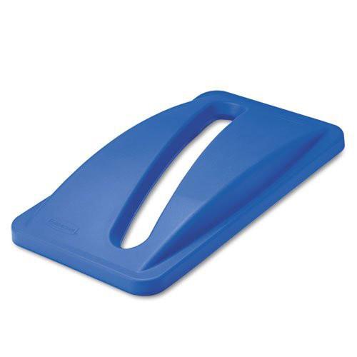 Rubbermaid Slim Jim Paper Lid - Blue