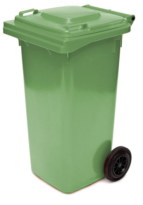 Green Wheelie Bin - 120 Litre