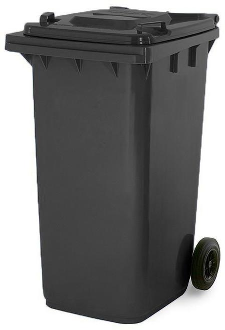 Black Wheelie Bin - 180 Litre