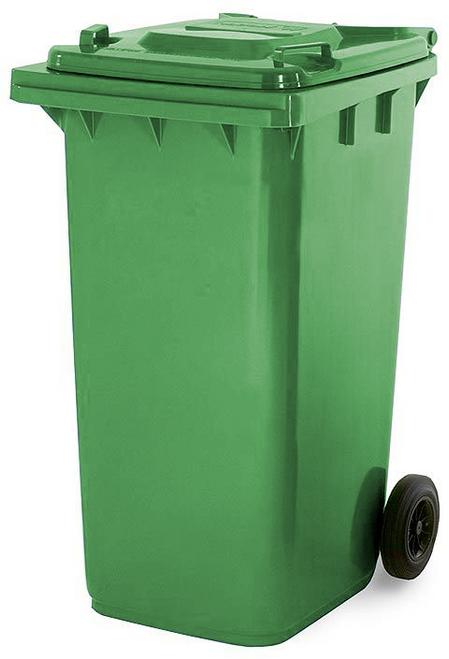 Green Wheelie Bin - 180 Litre