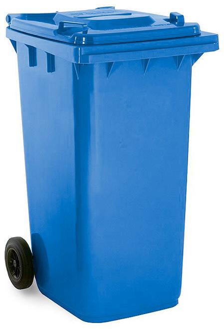 Blue Wheelie Bin - 240 Litre - Blue