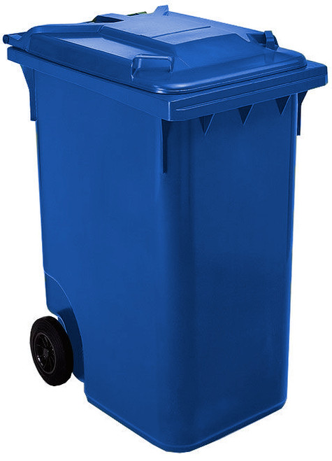 Blue Wheelie Bin - 360 Litre