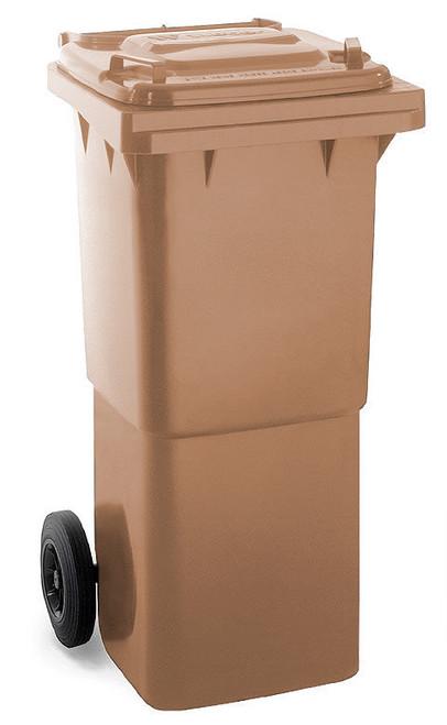 Brown Wheelie Bin - 60 Litre