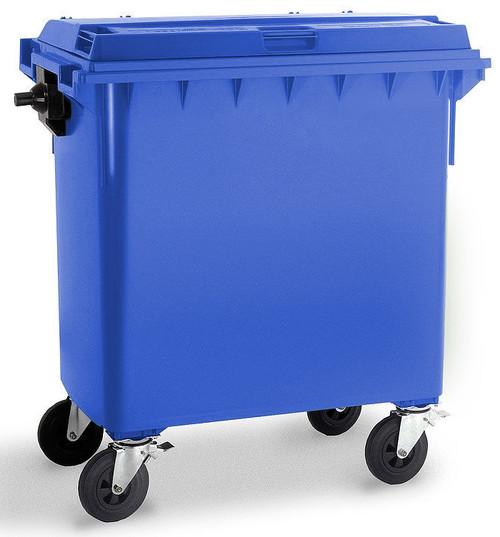 Blue Wheelie Bin - 770 Litre