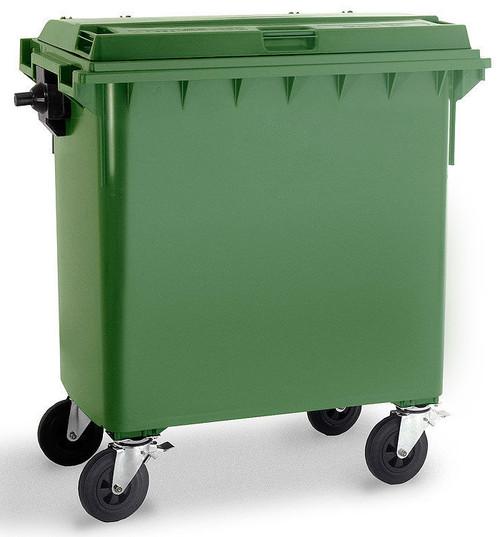 Green Wheelie Bin - 770 Litre