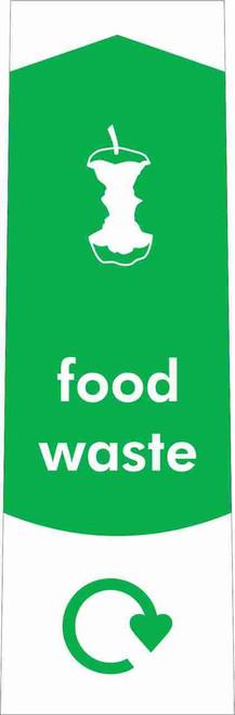 Slim Waste Stream Sticker - Food Waste