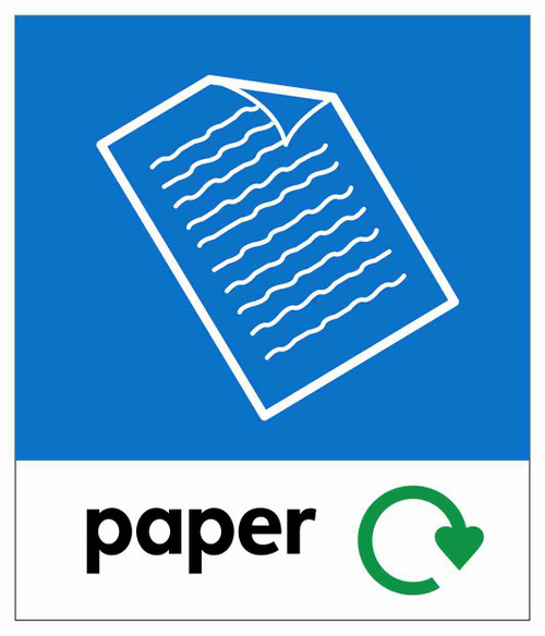 Small Waste Stream Sticker - Paper