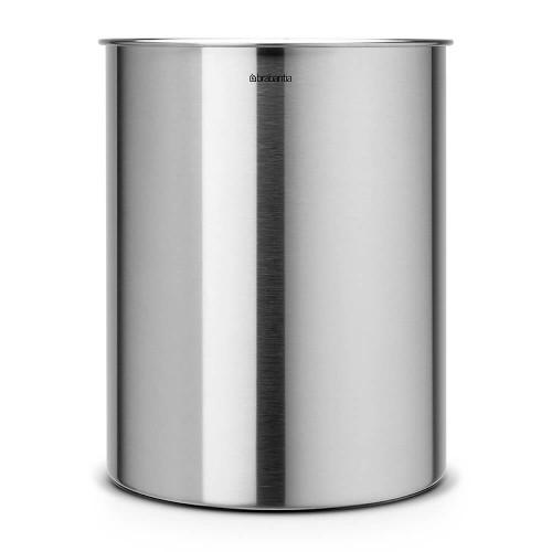 Brabantia Waste Paper Bin 15 litre - Matt Steel - Brabantia 313387