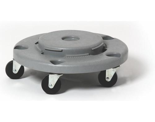 Probbax Round Dolly Fits Rc-1005 & Rc-1007 (5 Castors) - Grey