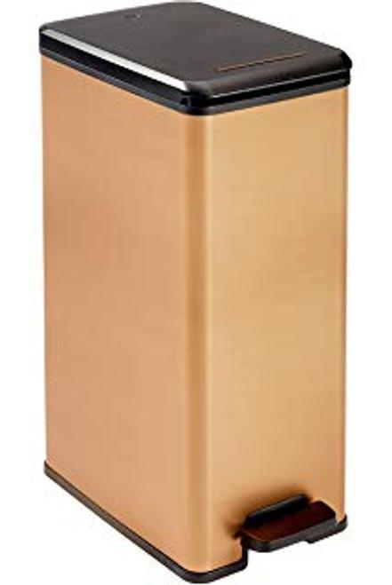 Curver Deco Bin - Slim - Pedal - 40L - Copper