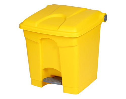 Probbax Step-On Container 30L - Yellow - Ral 1021-1023