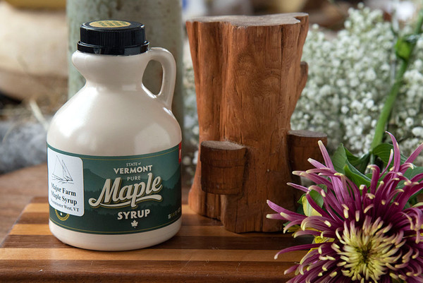 Grade A Pure Vermont Maple Syrup