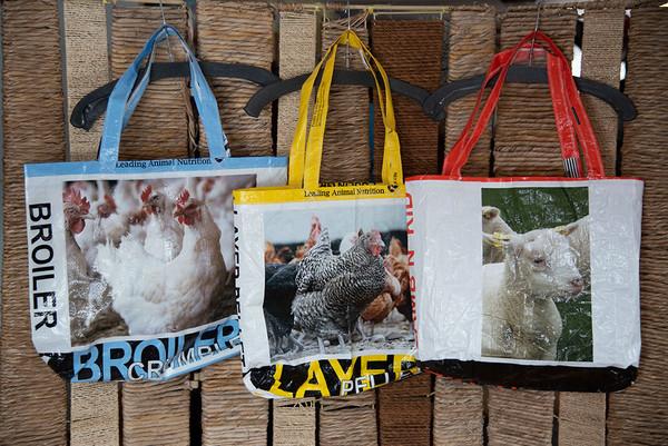 Handmade Grainbag Tote