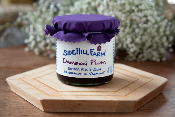 SideHill Damson Plum Jam
