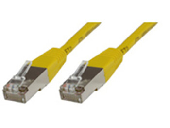 Microconnect 0.25m Cat6 RJ-45 networking cable F/UTP FTP Yellow B-FTP60025Y