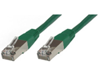 Microconnect 0.25m Cat6 RJ-45 networking cable F/UTP FTP Green B-FTP60025G