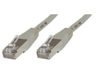 Microconnect 0.25m Cat5e RJ-45 networking cable F/UTP FTP Grey B-FTP50025