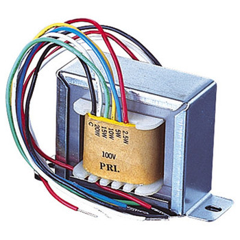 100 V Line Transformer Converting Line Signal To 8/16 Ohm With Tappings 2,4,8 W