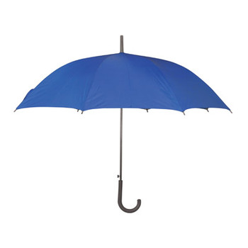 23 Blue Polyester Umbrella with Auto-Open