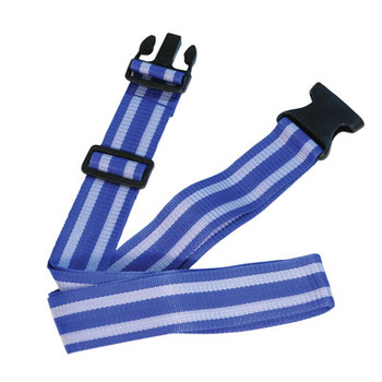 Luggage Strap in Blue and Grey