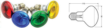 R80 COLOURED REFLECTOR LAMPS [160.002UK]