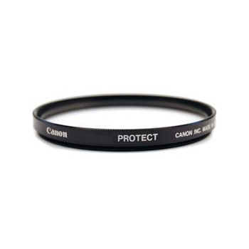 Canon •Canon multi coated regular protection filter. •58mm filter thread. •This filter is ideal to leave on your lens for protection from knocks bumps and scratches. [2595A001AA]